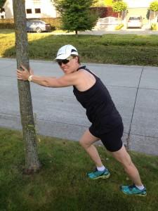 foto Sigrid aan boom